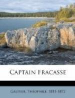 Captain Fracasse by Théophile Gautier