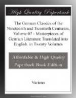 The German Classics of the Nineteenth and Twentieth Centuries, Volume 07 by