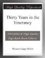 Thirty Years in the Itinerancy by