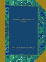 Recent Tendencies in Ethics by William Ritchie Sorley