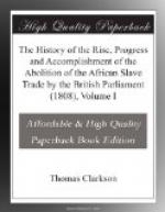 The History of the Rise, Progress and Accomplishment of the Abolition of the African Slave Trade by the British Parliament (1808) by Thomas Clarkson