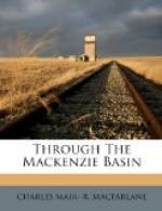 Through the Mackenzie Basin by Charles Mair