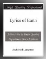 Lyrics of Earth by Archibald Lampman