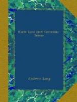 Cock Lane and Common-Sense by Andrew Lang