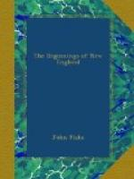The Beginnings of New England by John Fiske