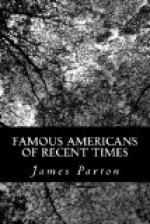 Famous Americans of Recent Times by James Parton