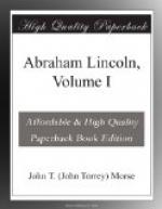 Abraham Lincoln, Volume I by