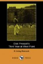 Dick Prescott's Third Year at West Point by H. Irving Hancock