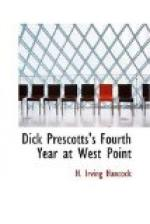 Dick Prescotts's Fourth Year at West Point by H. Irving Hancock