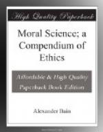 Moral Science; a Compendium of Ethics by Alexander Bain