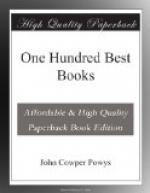 One Hundred Best Books by John Cowper Powys