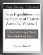 Three Expeditions into the Interior of Eastern Australia, Volume 1 by Thomas Mitchell