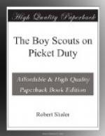 The Boy Scouts on Picket Duty by