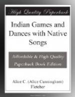 Indian Games and Dances with Native Songs by Alice Cunningham Fletcher