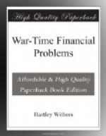 War-Time Financial Problems by