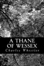 A Thane of Wessex by Charles Whistler