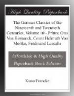 The German Classics of the Nineteenth and Twentieth Centuries, Volume 10 by