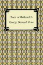Back to Methuselah by George Bernard Shaw