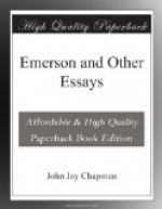 Emerson and Other Essays by John Jay Chapman
