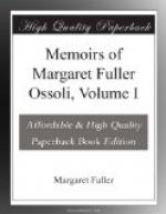 Memoirs of Margaret Fuller Ossoli, Volume I by Margaret Fuller