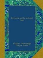 Sermons to the Natural Man by William Greenough Thayer Shedd
