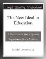 The New Ideal in Education by