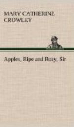Apples, Ripe and Rosy, Sir by