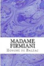 Madame Firmiani by Honoré de Balzac