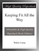 Keeping Fit All the Way by Walter Camp