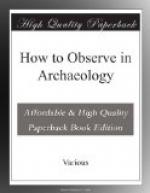 How to Observe in Archaeology by