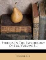 Studies in the Psychology of Sex, Volume 5 by Havelock Ellis