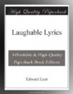 Laughable Lyrics by Edward Lear