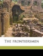 The Frontiersmen by Mary Noailles Murfree