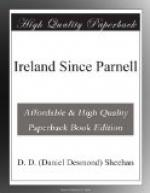 Ireland Since Parnell by D.D. Sheehan