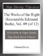 The Works of the Right Honourable Edmund Burke, Vol. 09 (of 12) by Edmund Burke