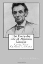 The Every-day Life of Abraham Lincoln by Francis Fisher Browne