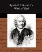 Spiritual Life and the Word of God by Emanuel Swedenborg
