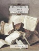 Plutarch's Lives, Volume I by Plutarch