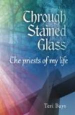 Through stained glass by