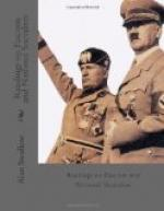 Readings on Fascism and National Socialism by