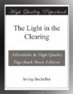 The Light in the Clearing by Irving Bacheller