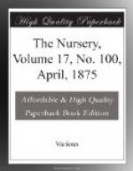 The Nursery, Volume 17, No. 100, April, 1875 by