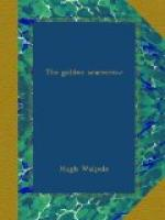 The Golden Scarecrow by Hugh Walpole