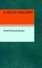 A Celtic Psaltery by Alfred Perceval Graves