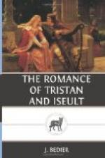 The Romance of Tristan and Iseult by