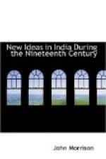 New Ideas in India During the Nineteenth Century by
