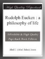 Rudolph Eucken by Abel J. Jones