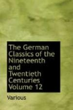 The German Classics of the Nineteenth and Twentieth Centuries, Volume 12 by