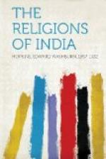 The Religions of India by Edward Washburn Hopkins