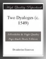 Two Dyaloges (c. 1549) by Desiderius Erasmus